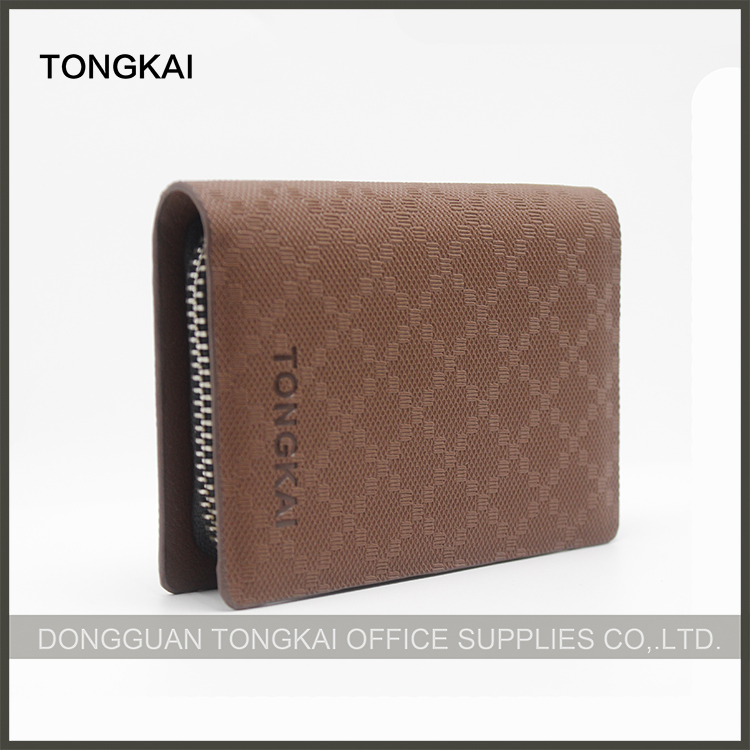 PU Leather Brown Color Cases Key Smart Holder