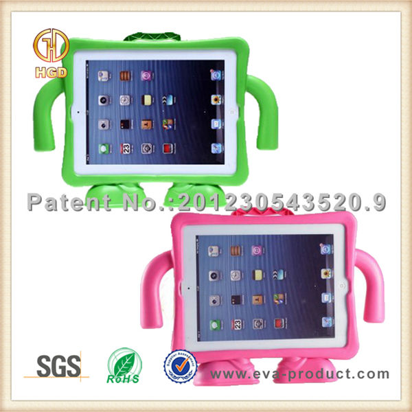Kids shockproof cases for ipad 234/Apple boy design for apple ipad 2 case