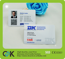 TK4100 pvc plastic ID card for both side printing with high quality.
