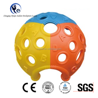 Reinforced Popular Kids Games Plastic Hemispherical Climbing