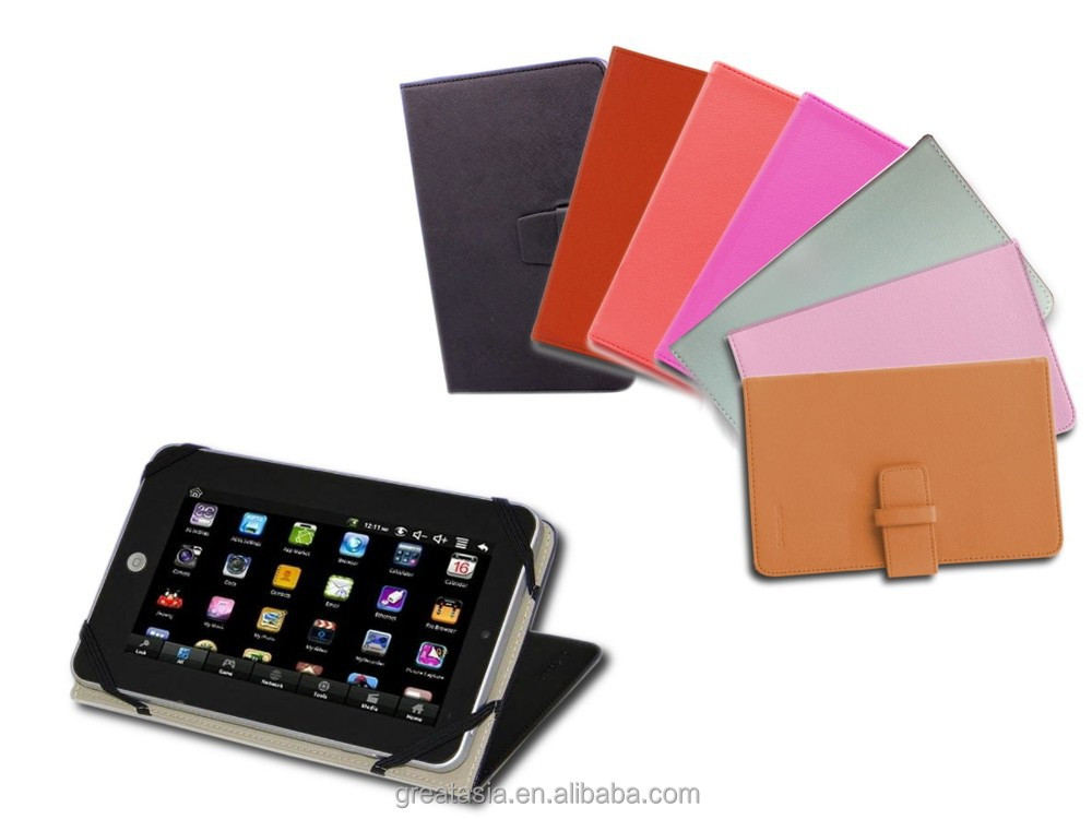 "7"" inch Leather carry Case pouch Cover for Tablet PC ebook reader"