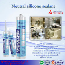Neutral Silicone Sealant supplier/ silicone sealant for laminated wood/ clear coat for silicone sealant adhesive
