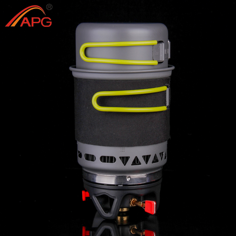 APG Outdoor Portable Camping Cooking System Gas Stove