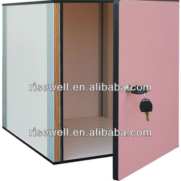 bedroom steel frames storage locker