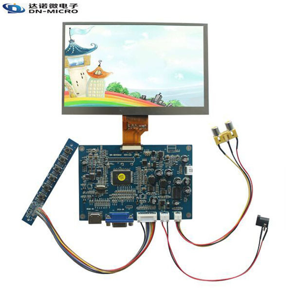 7 inch HD lcd screen module with HDMI interface driver board