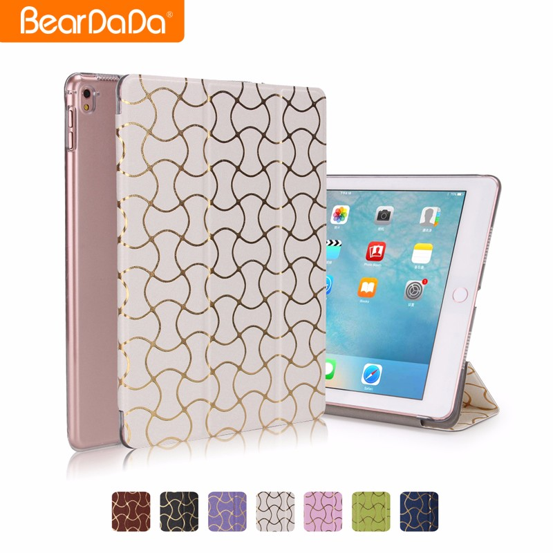 Wholesale new design leather shockproof case for ipad pro
