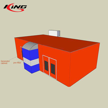 China High Quality Furniture Paint Spray Booth for Sale