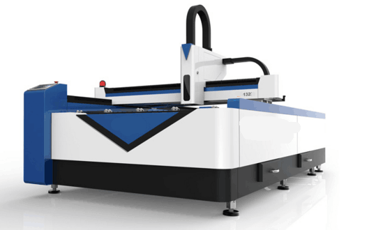 1325 fiber laser engraver for cutting Carbon steel plate and stainless steel plate in China