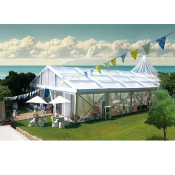 30ft*45ft Customizable Large Event Clear Span Marquee Pvc Tent For 100 People