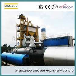 China leading 120T/H asphalt mixing plant manufacturer,SINOSUN SAP120 stationary asphalt mixing plant