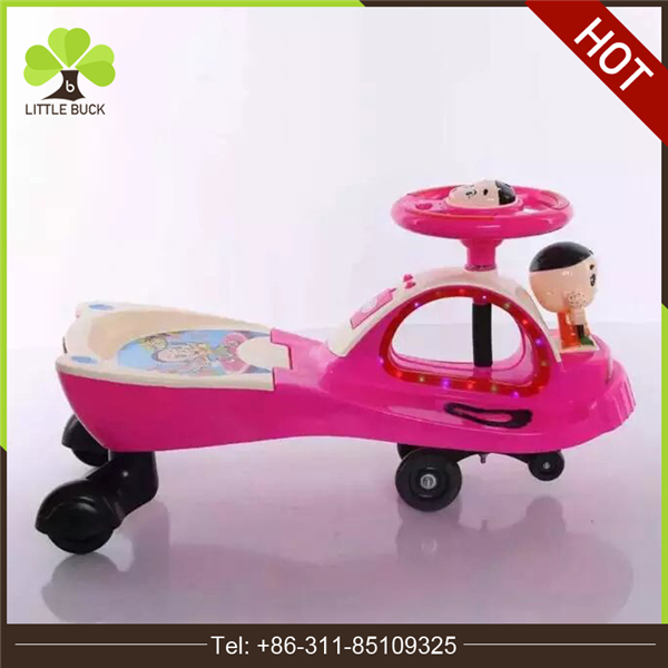 2017 hot sale baby cheap twist cars toy plastic kids swing car rides on toys for kids from alibaba xingtai factory