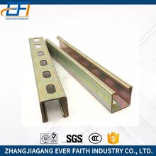 Factory Supply Steel Material Hdg Double C Channel