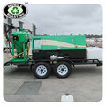Mobile dustless blasting machine, db500-sand blaster with truck