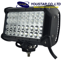 Four rows 108w 9 inch automobiles & motorcycles led driving light bar high intensity head light