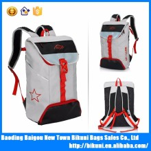 Custom new high quality large capacity canvas 15L outdoor hiking travel laptop backpack with shoe compartment