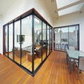 American style thermal break low-e glass aluminum sliding door