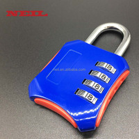4 Digit Combination Lock, door Padlock for School, Luggage combo lock