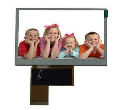 LCD manufacturer high quality 4.3 inch tft lcd display with 480x800