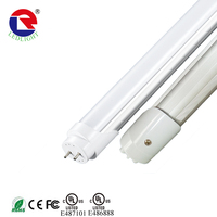 free sample UL DLC listed t8 led tube 18w 4ft 5ft 8ft t8 led tube light 5 years warranty