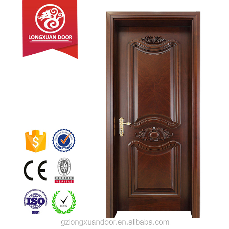 2016 Commercial Position and Swing Open Style Mahogany carved solid wood doors