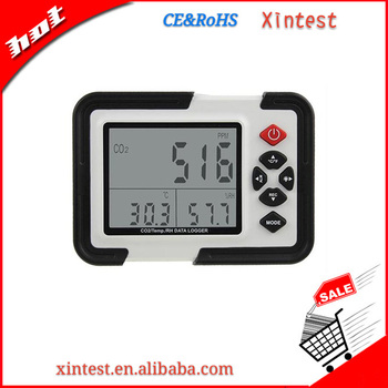 Carbon Dioxide CO2/Temperature/RH Meter with Datalogger