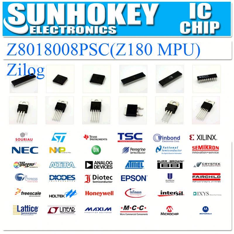 (IC)Z8018008PSC(Z180 MPU)Zilog Integrated Circuit electronic chips laptop