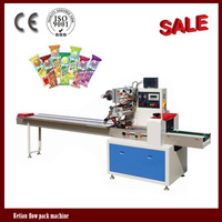 CE Rotary Pillow Automatic Lollipop Wrapping Machine