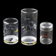 Custom Made Recycled Transparent PET/PVC/PP Plastic Round Cylinder Boxes For Gift