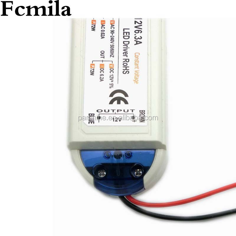 Constant current 300mA 18v 5w mini led driver Professional Manufacturer CE RoHS IP67 Standard 70w 12v waterproof Led Driver