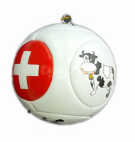 Custom printing mini ball keychain Polish Soccer Ball Key Chain Mini football keychain world cup football keychain