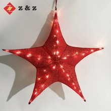 2018 FESTIVAL DECORATION INDOOR/OUT DOOR DECORATION LIGHT FOLDABLE SHINNING CHRISTMAS STAR