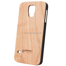 Wood phone case for Samsung galaxy S5 mobile phone back cover
