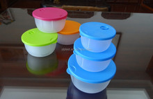 Hot selling 3 pcs plastic food storage container