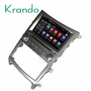 Krando 7'' touch screen Android 7.1 car dvd radio for Hyundai IX55 Veracruz 2006-2016 gps navigation player multimedia KD-HY755