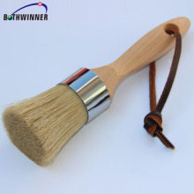 Round head bristle paint brush