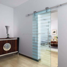 fuly franeless glass design standard sliding glass door size