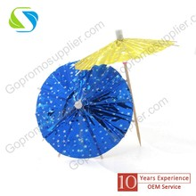 Wholesale High Quality Paper Cocktail Umbrella Picks