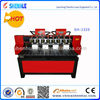 two three four eight heads cnc router woodworking machine 1325