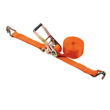 cargo lashing ratchet tie down strap 5 ton 10m ratchet strap with double j hook ratchet strap heavy duty ratchet strap