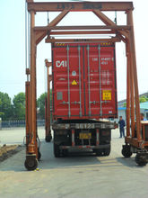 30t 36t 40 Ton mast container lift equipment