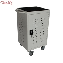 selling 32 device electrical outlet locking charging cart charging cabinet laptop cabinet
