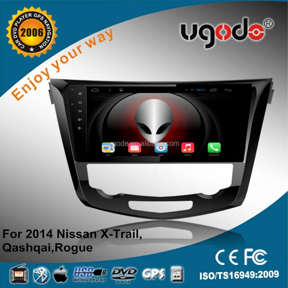 ugode 10.1 inch tablet 16GB android car dvd player for Qashqai/X-trail/Rogue