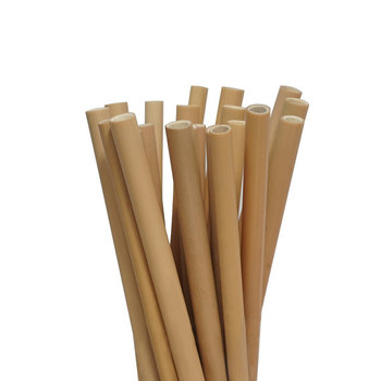 Multipurpose high quality biodegradable pla reusable bamboo straws eco friendly