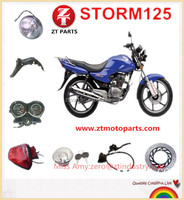 China Suppliers!!STORM125 CGR125 Motorcycle Parts Motorcycle Spare Parts for South America Venezuela