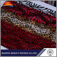 Animal Skin Print Zebra-stripe Tiger Stripe Style Velvet Designs Micro Velboa Fabric