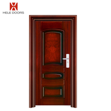Entry Indian Front mom and son Double Door Designs