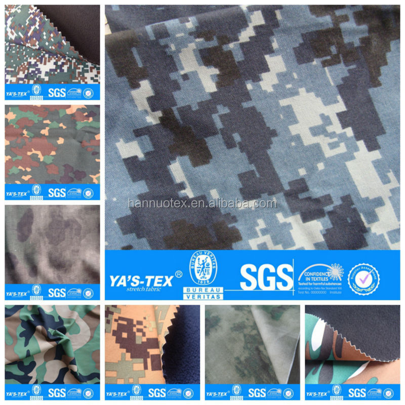 waterproof polyester camouflage fabric