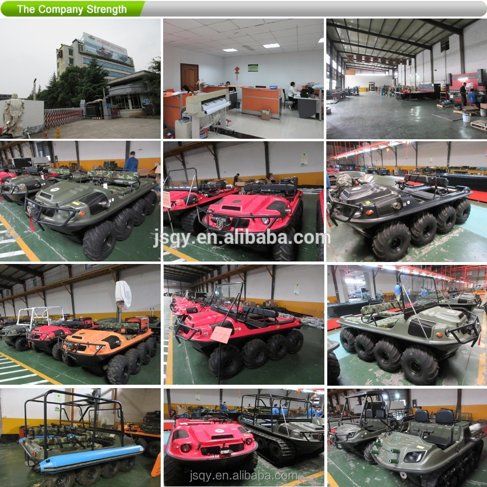 XBH 8X8-2 Standard amphibious vehicle Crossing river car go-anywhere vehicle fire fighting truck All-Terrain ATV