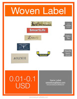 Custom Woven Clothing Labels for Garment