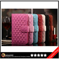 Keno Luxury Lady Mobile Phone Case for Samsung Galaxy S5 Wallet Style